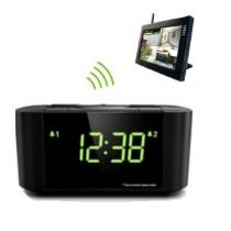Wireless Camera Radio-Clock + External Storage (Custom Made)